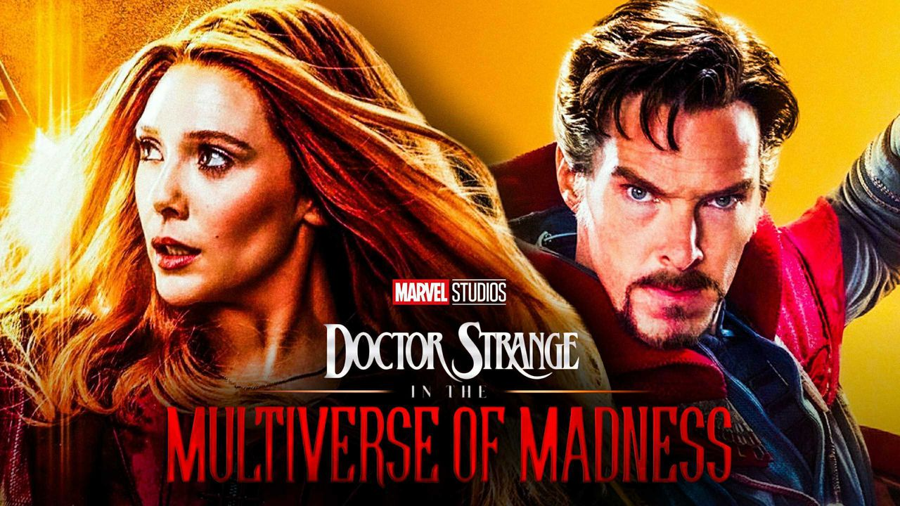 Scarlet Witch and Doctor Strange