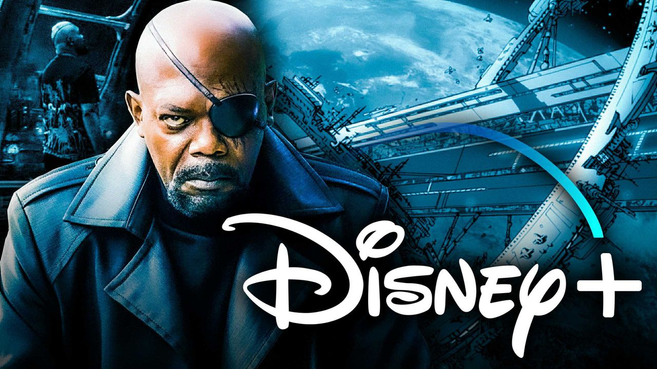 Nick Fury, Disney+ Logo