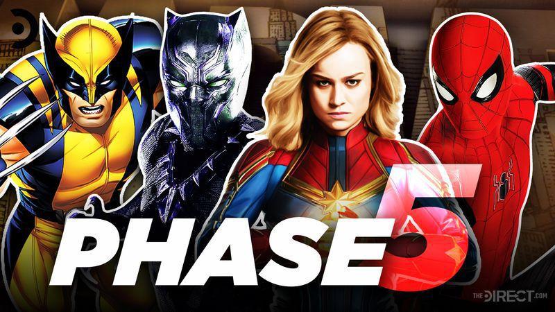 Marvel Cinematic Universe MCU Phase 5