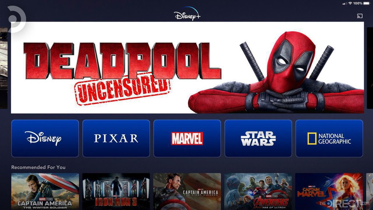 Deadpool Uncensored Disney+