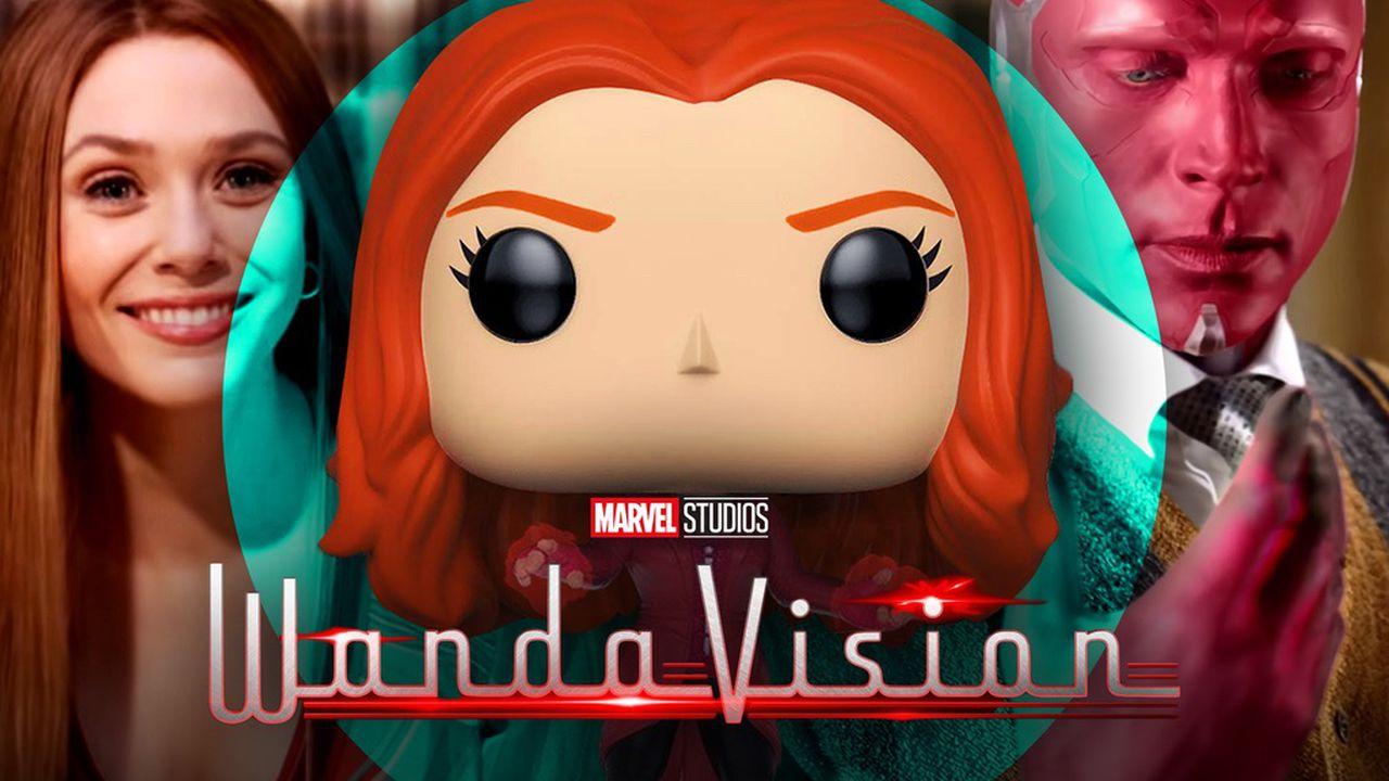 Marvel S Wandavision Leak Reveals 7 Funko Pops For Scarlet Witch Vision