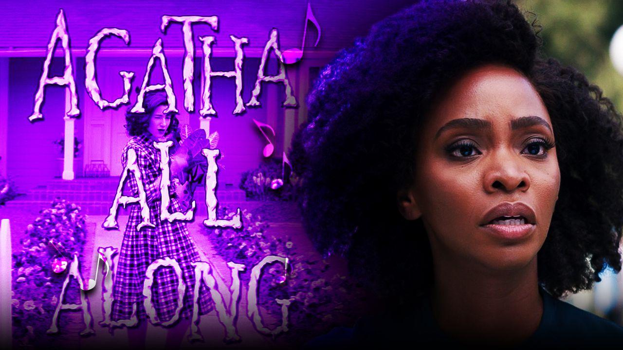 Teyonah Parris as Monica Rambeau, Agatha All Along title card