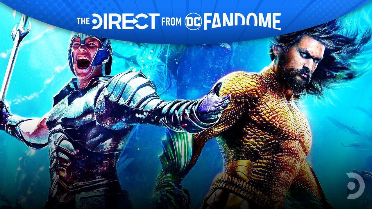 Patrick Wilson as Orm and Jason Momoa as Aquaman