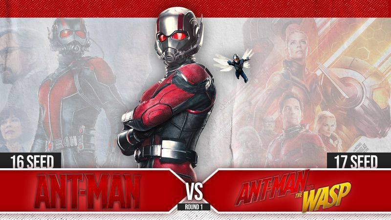 #16 Ant-Man vs. #17 Ant-Man and The Wasp