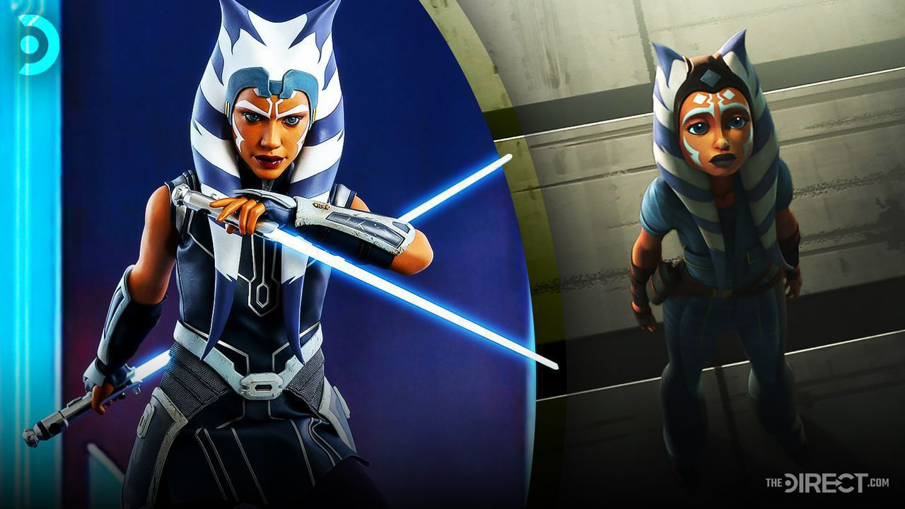 Ahsoka Tano Hot Toys figure, Ahsoka Tano animated form