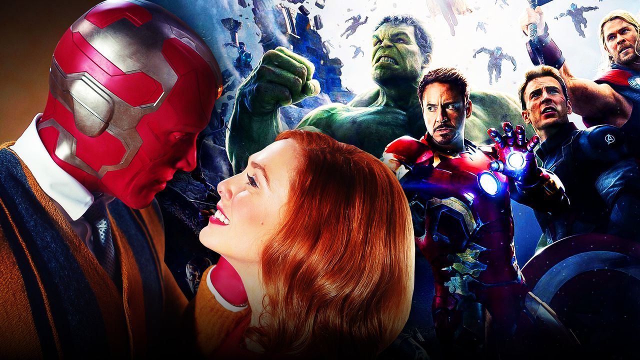 Wanda, Vision, and The Avengers