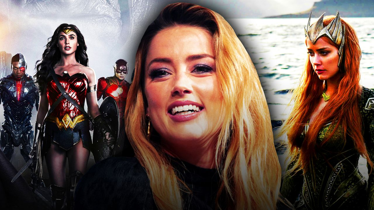 Justice League Star Amber Heard Shares New Set Video of Mera Costume Antics