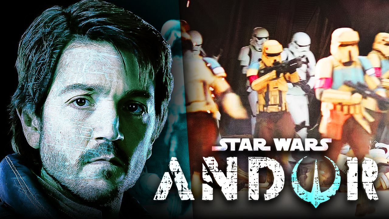 Star Wars: Andor Set Photos Reveal Return of Familiar Rogue One Troopers
