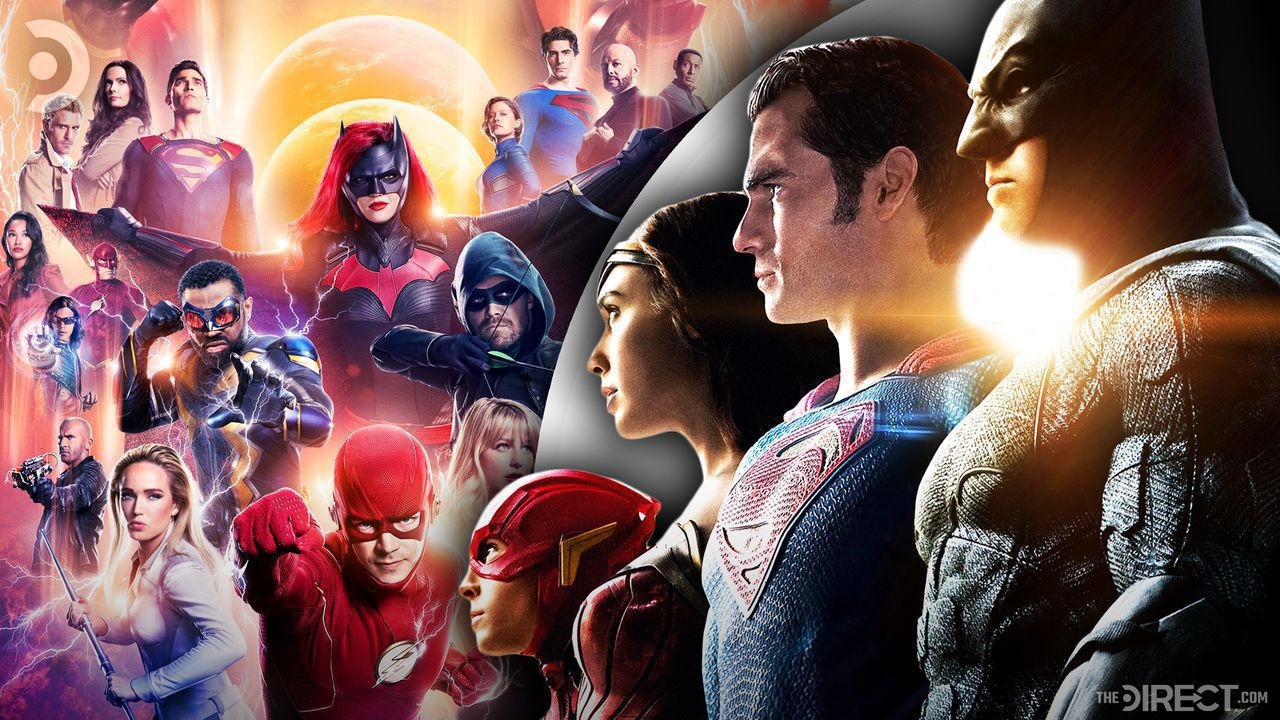 Crisis on Infinite Earths poster, Justice League Poster