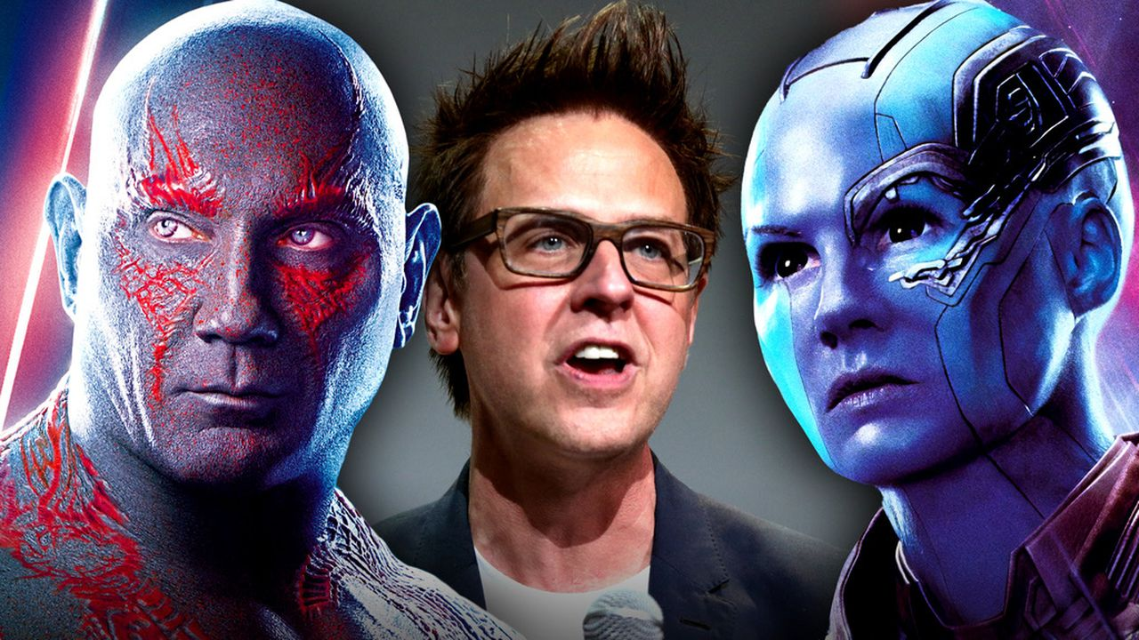 Drax, James Gunn, Nebula