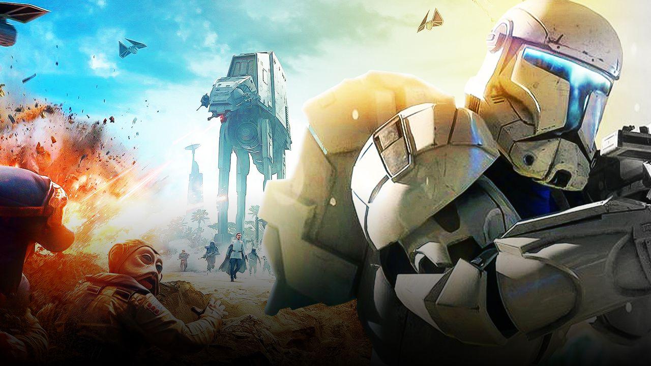 Star Wars: Battlefront poster, Star Wars Republic Commando Trooper