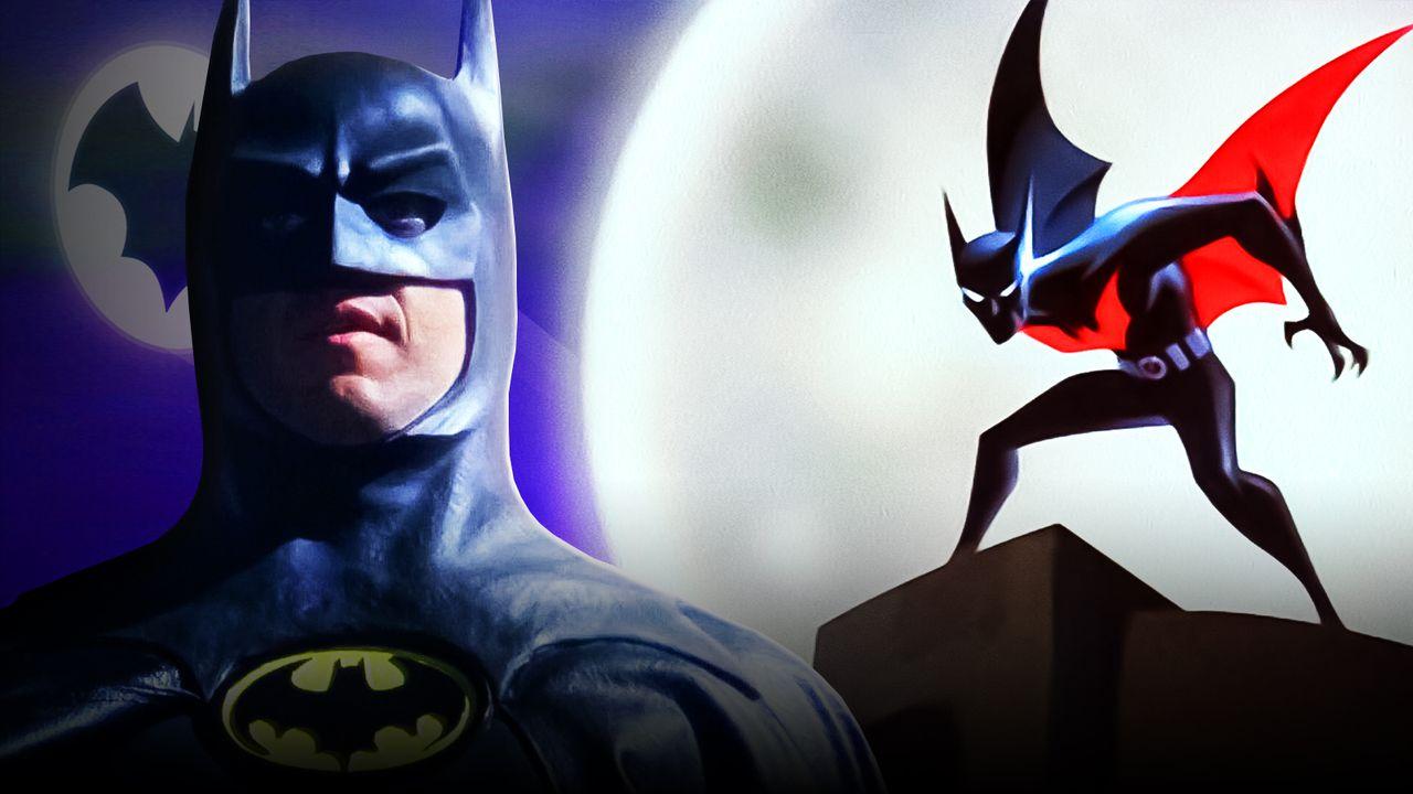 Michael Keaton as Batman, Batman: Beyond