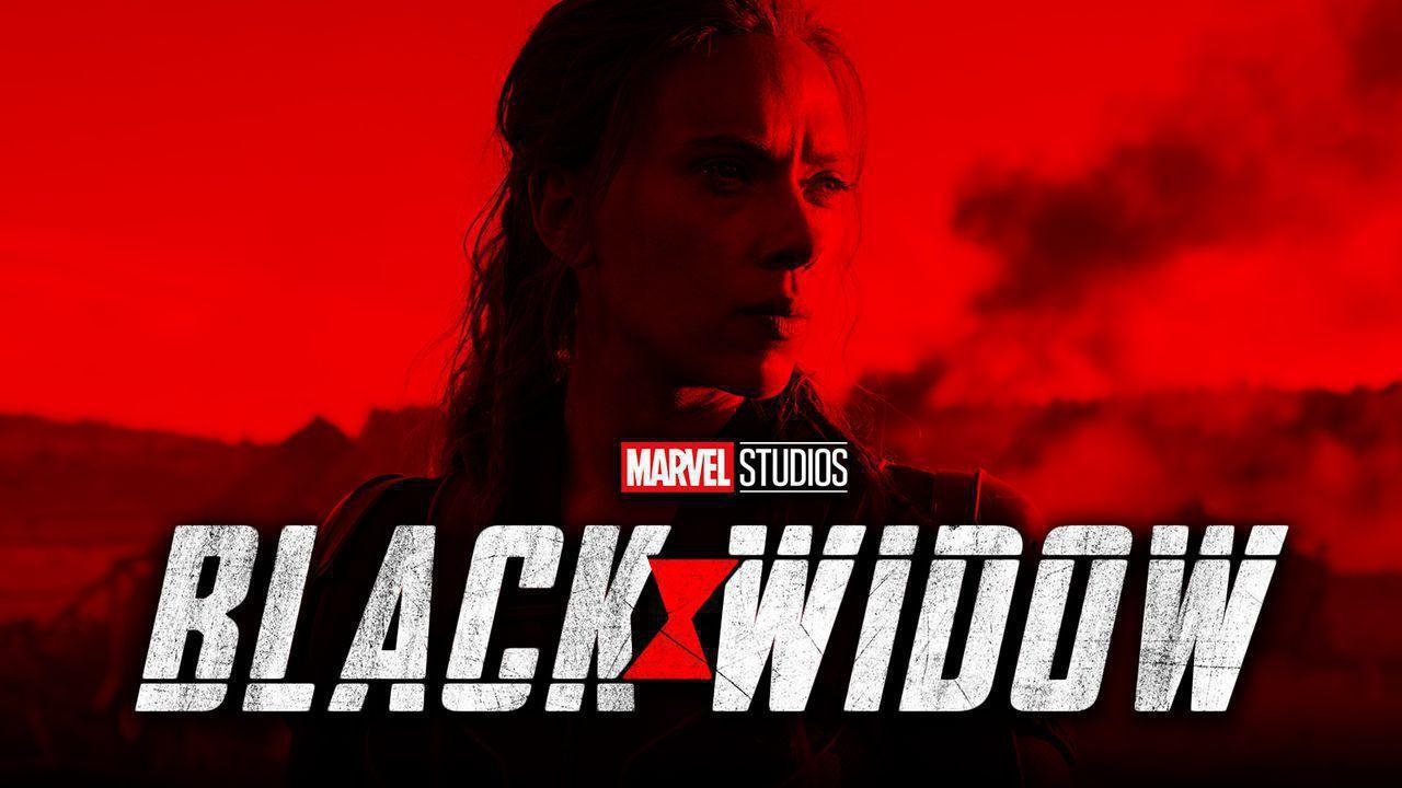 Black Widow logo Scarlett Johansson