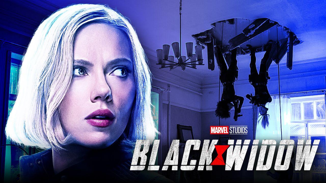 Black Widow Blonde Hair