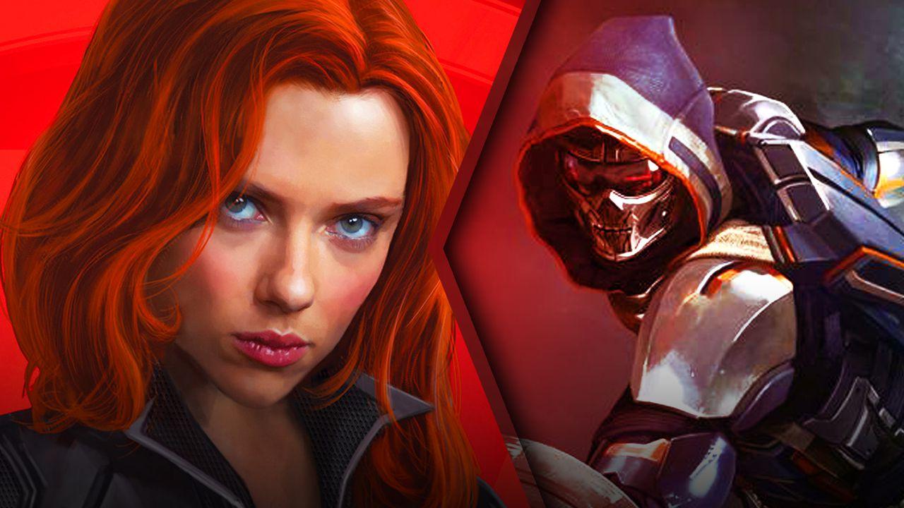Black Widow Poster, Taskmaster concept art