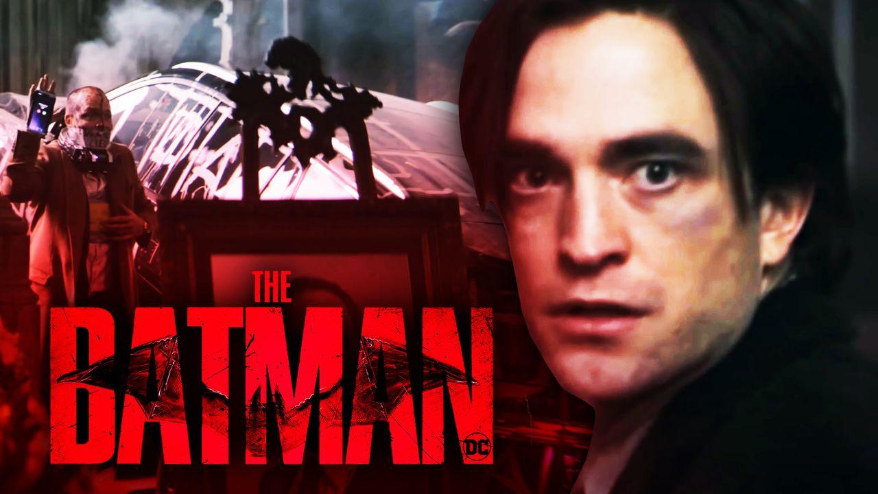 The Batman logo, Bruce Wayne