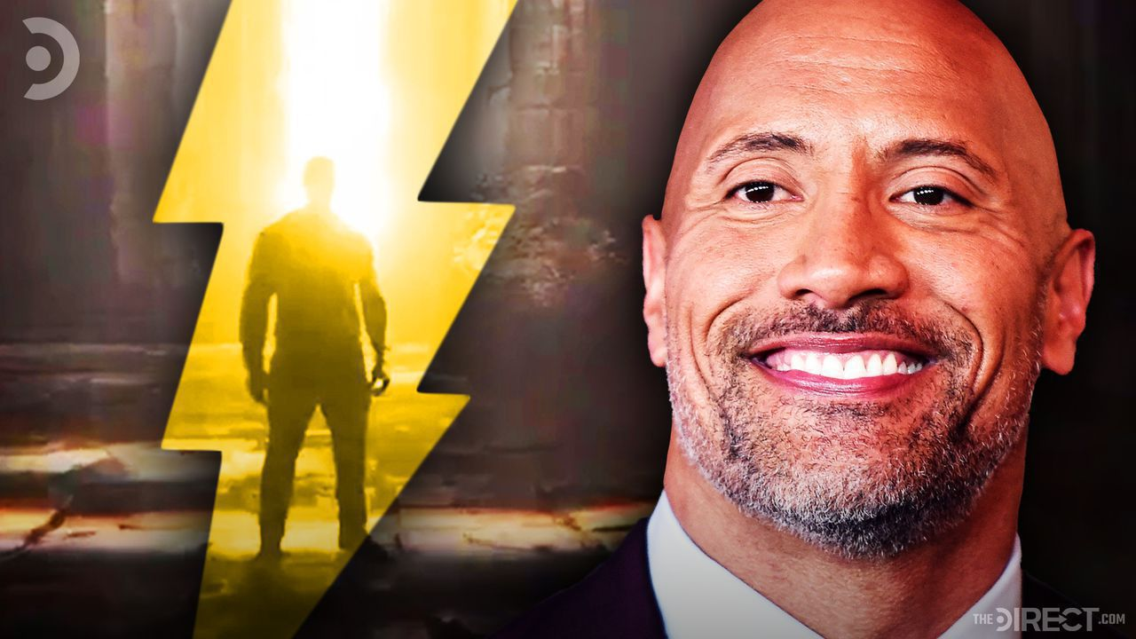 Dwayne Johnson, Black Adam Sneak Peek