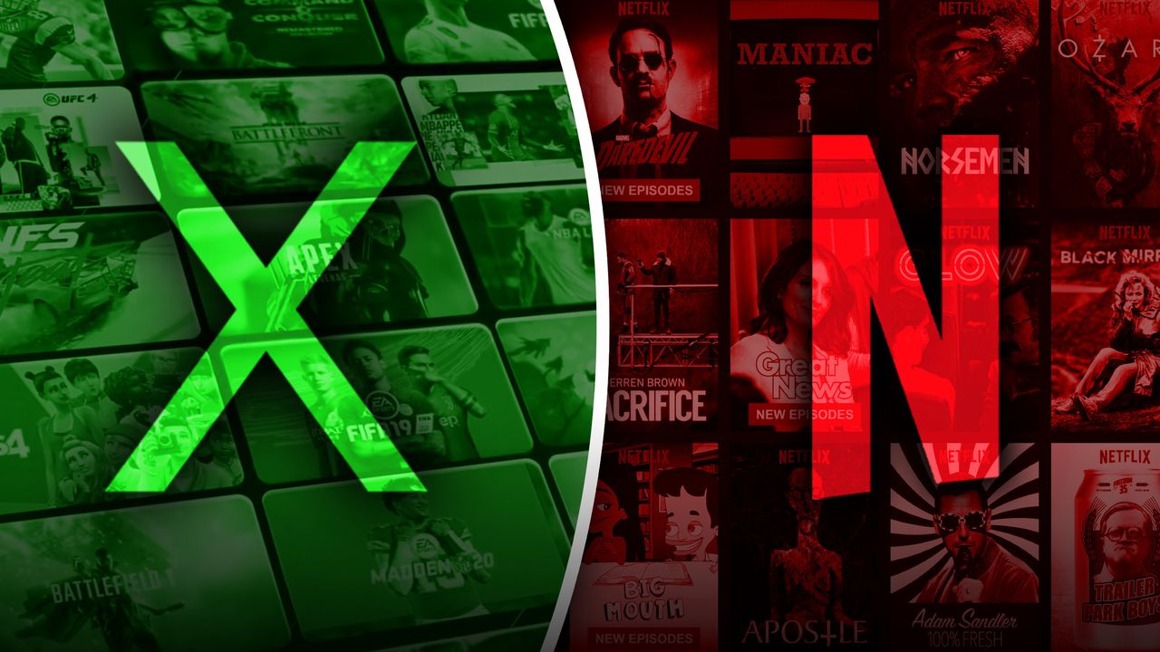 Xbox Netflix Game Pass