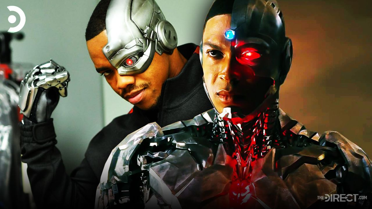 Justice League S Ray Fisher Backs Doom Patrol S Cybernetic