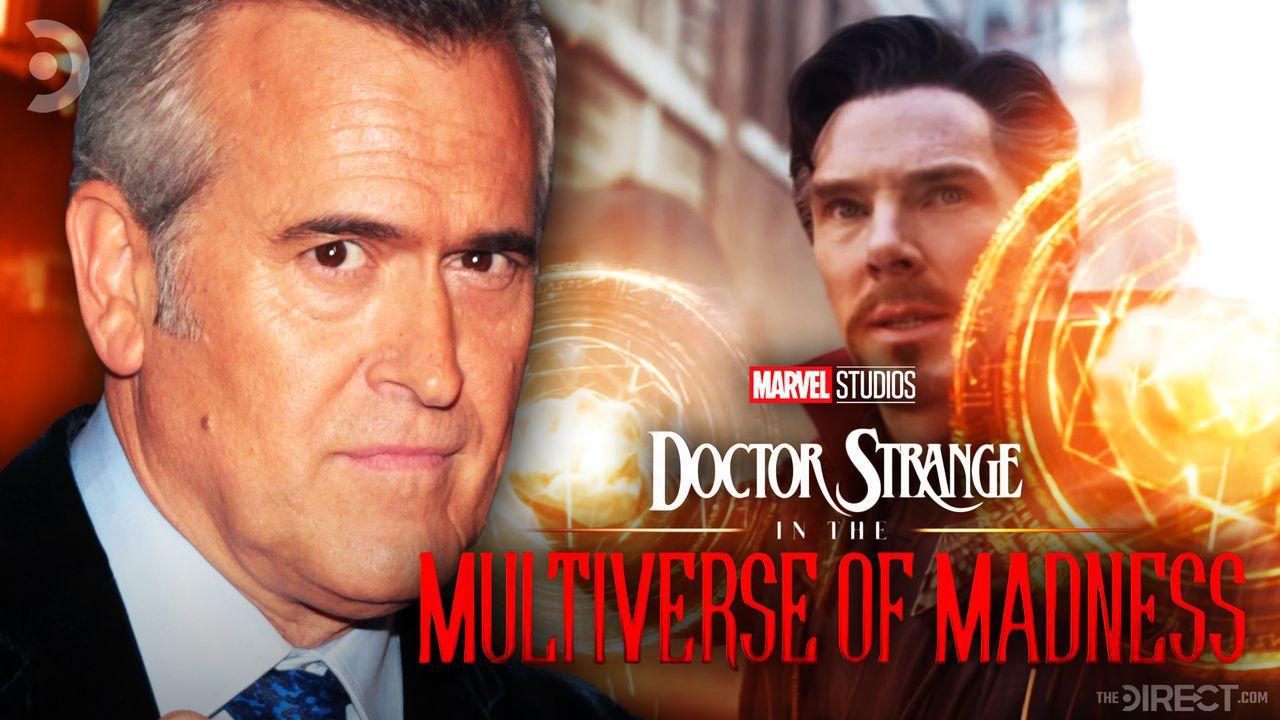 Bruce Campbell, Doctor Strange, and logo