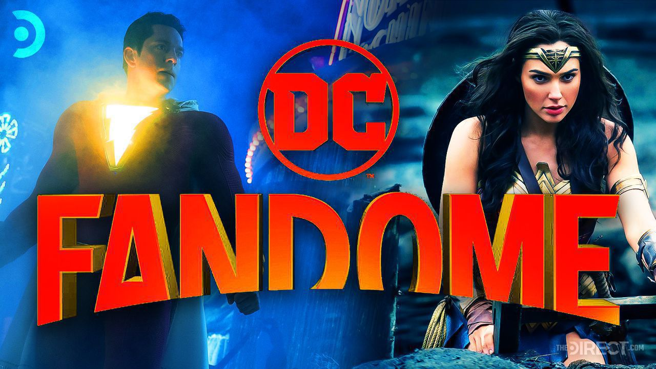 DC FanDome logo, Wonder Woman, Shazam