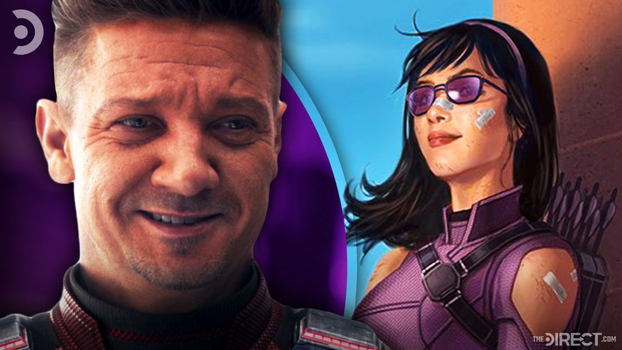Jeremy Renner as Hawkeye, Kate Bishop