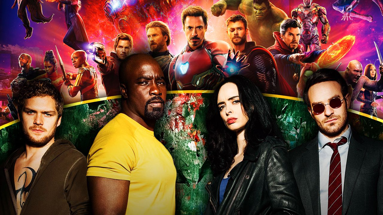 Avengers: Infinity War Poster, inc. Iron Man, Thor, Captain America, Netflix's The Defenders Poster