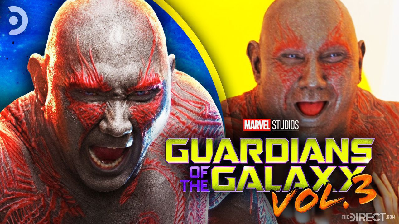 Drax Poster, Drax from Guardians of the Galaxy: Vol 2.