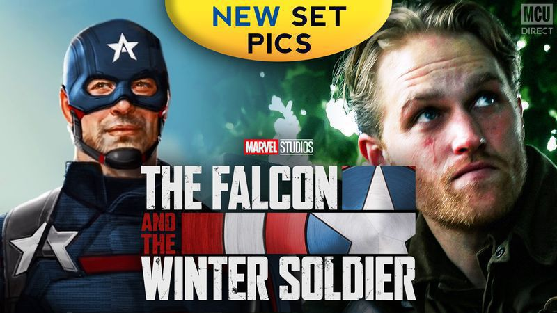 The Falcon and The Winter Soldier set photos reveal the first look at Wyatt Russell as U.S. Agent