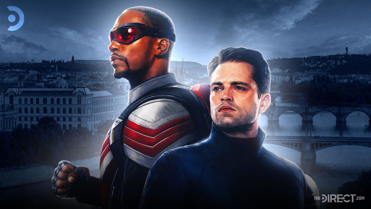 The Falcon and The Winter Soldier standing together