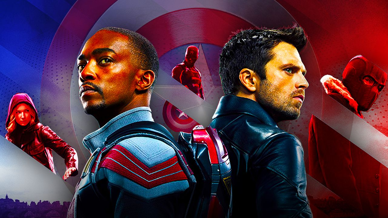 New Falcon and the Winter Soldier Poster
