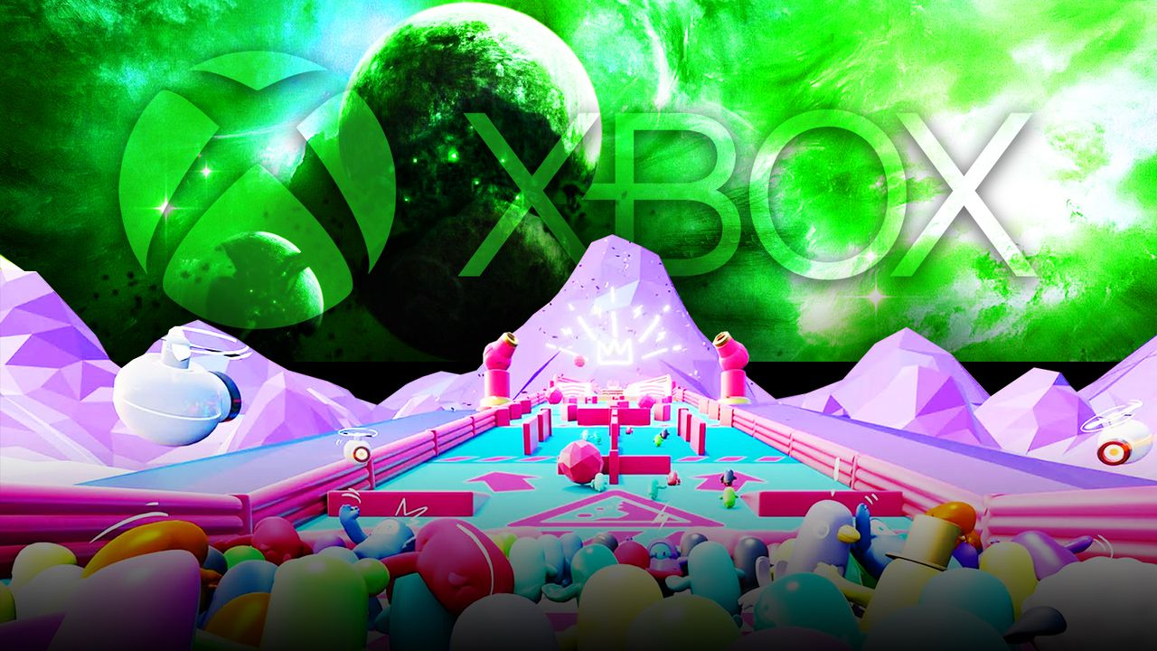 Xbox logo Fall Guys