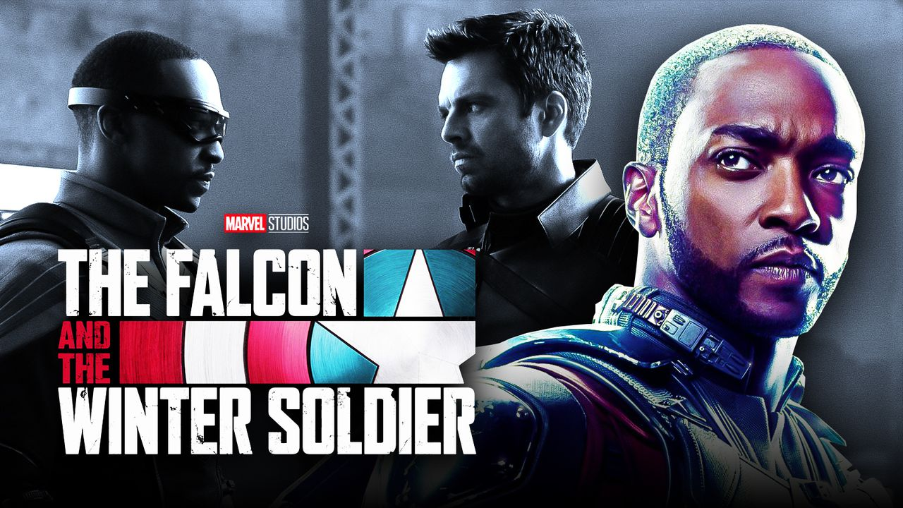 The Falcon and the Winter Soldier Logo, Anthony Mackie