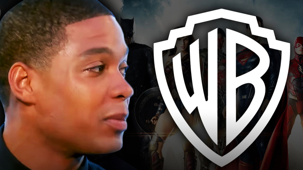 Ray Fisher, WB logo