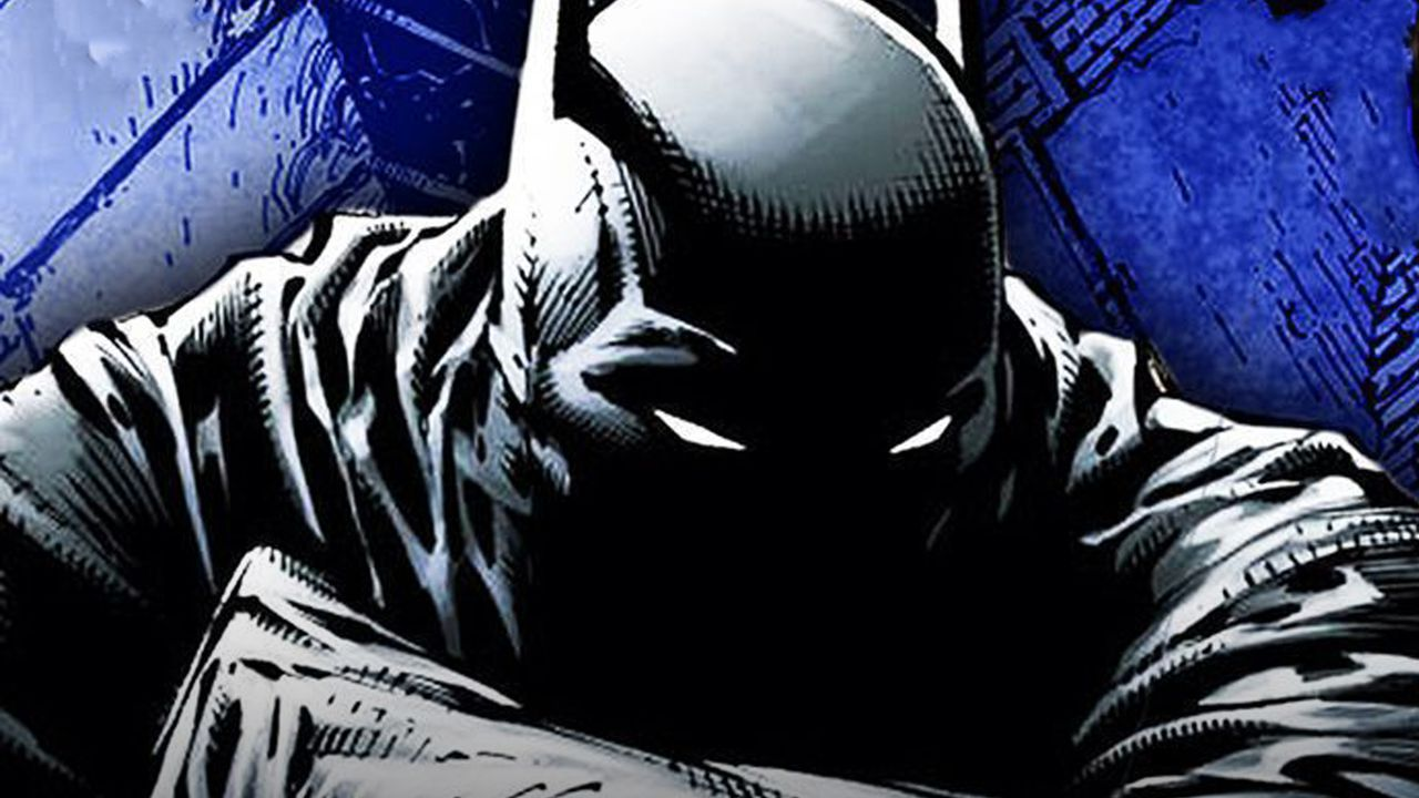 Comic version of Batman