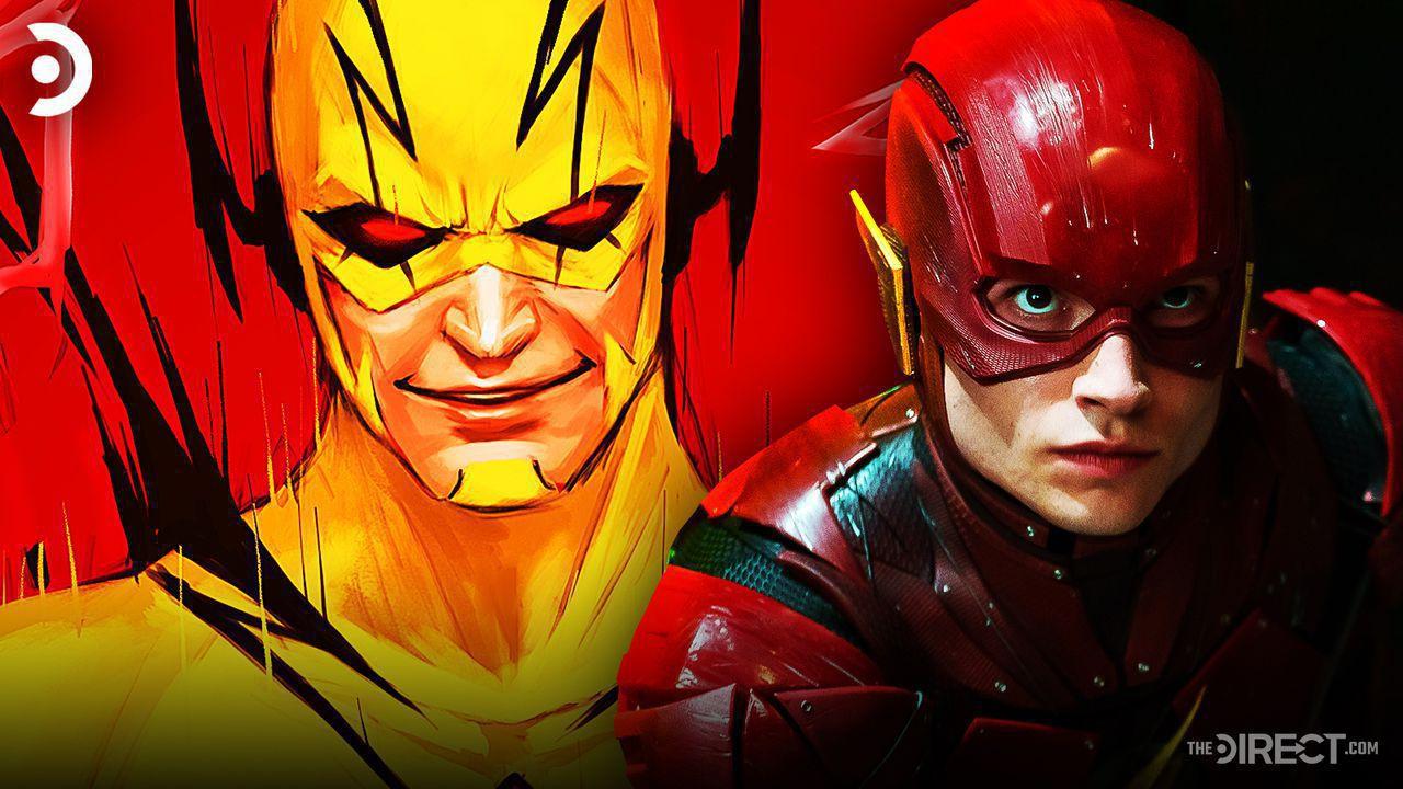 Comic Artwork of Reverse-Flash, Ezra Miller as The Flash