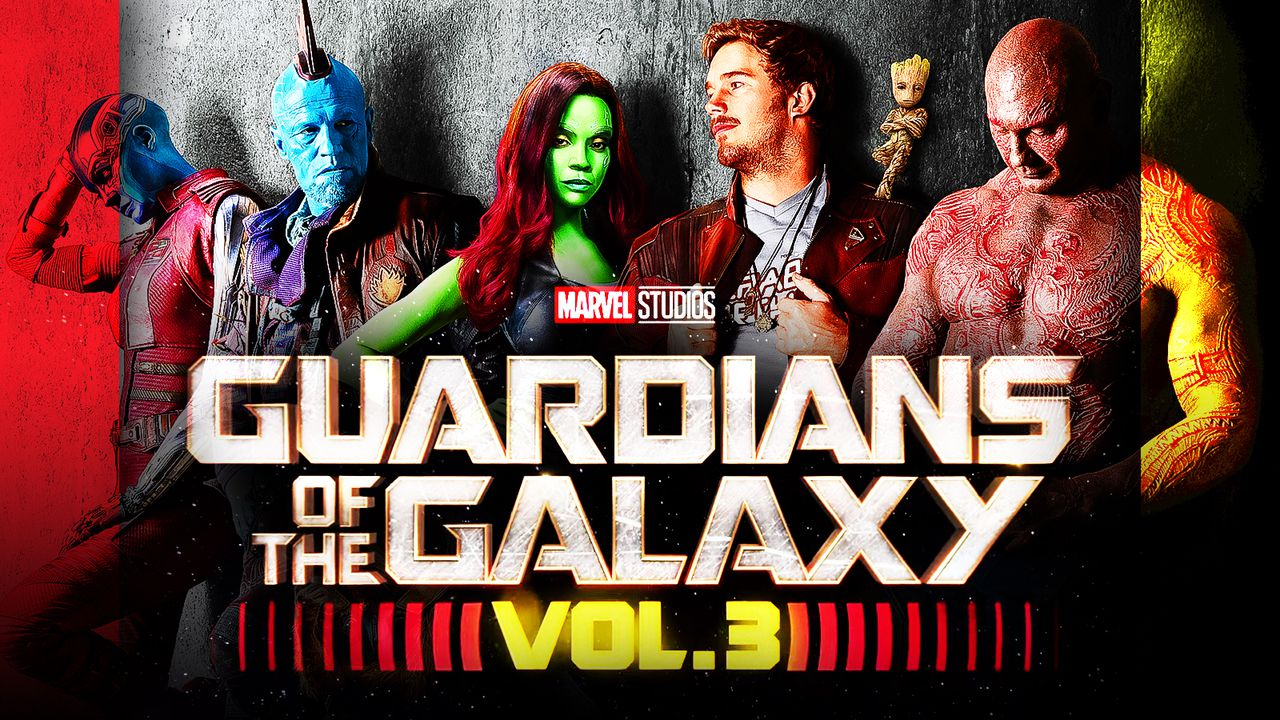 Guardians of the Galaxy Vol 3 Team