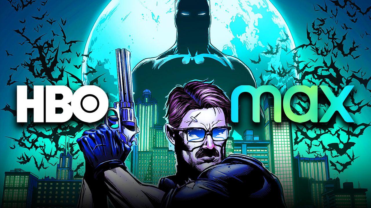 HBO Max logo, Jim Gordon, Batman