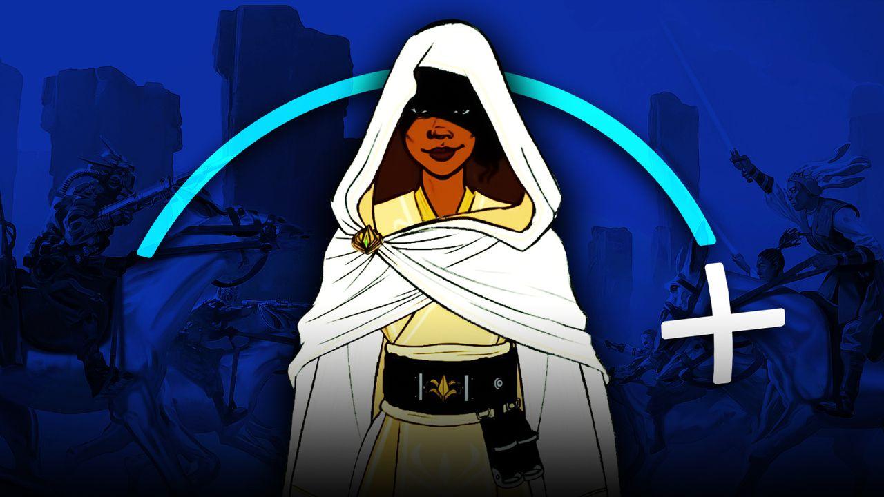 Disney+ logo, The High Republic character