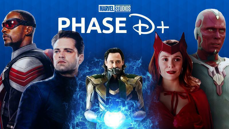 A look into the first set of MCU Disney+ projects