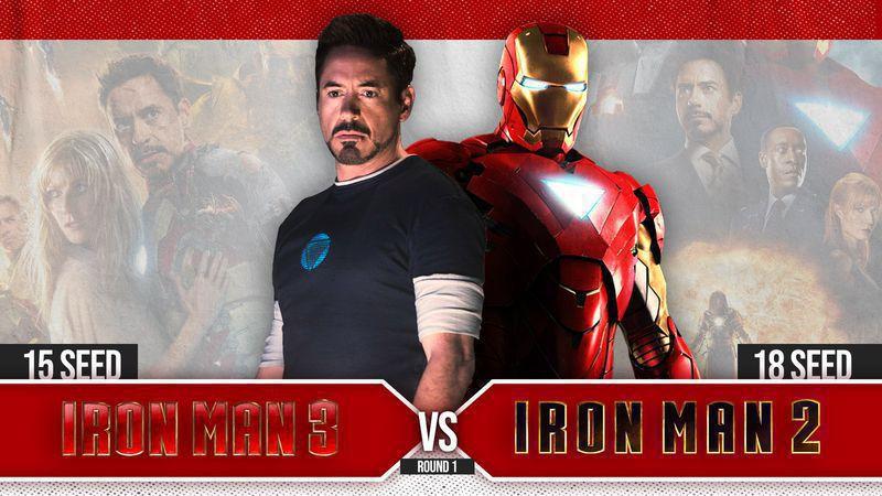 #15 Iron Man 3 vs. #18 Iron Man 2