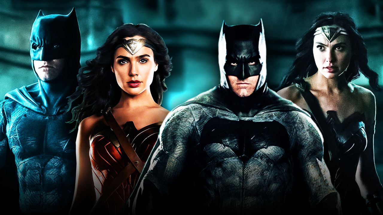Snyder Cut Justice League, Batman, Wonder Woman