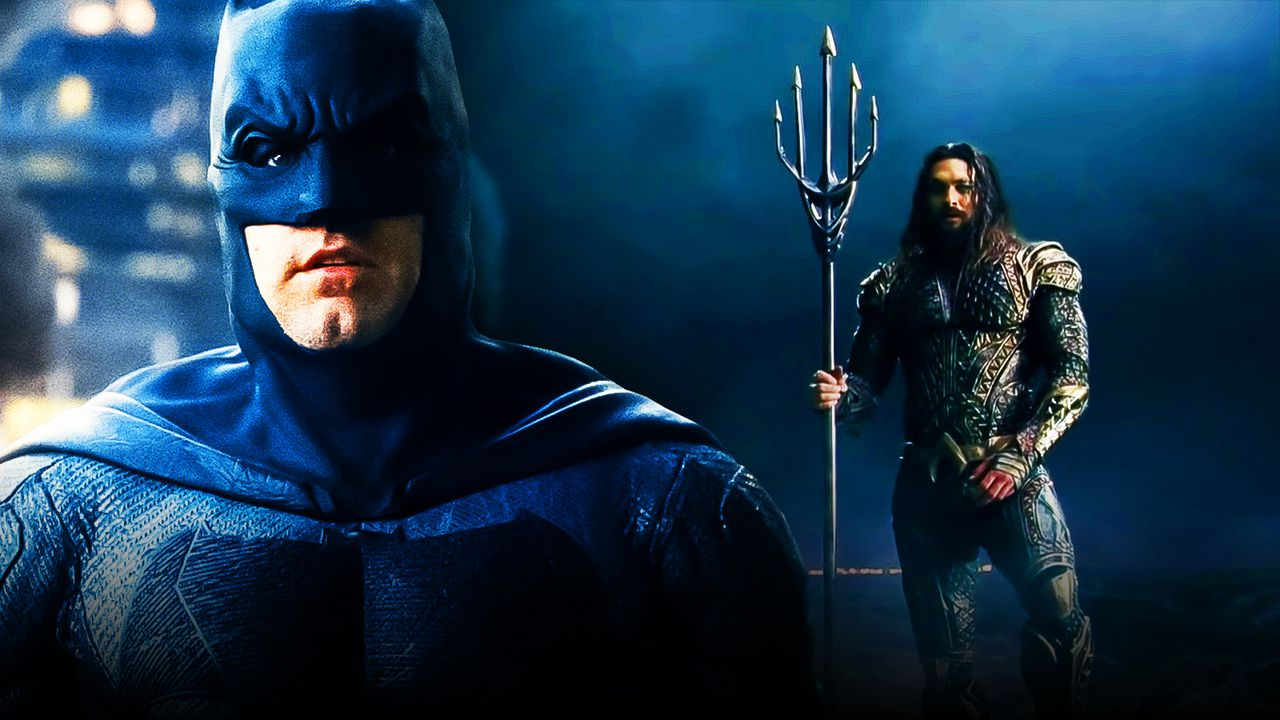 Batman and Aquaman Justice League
