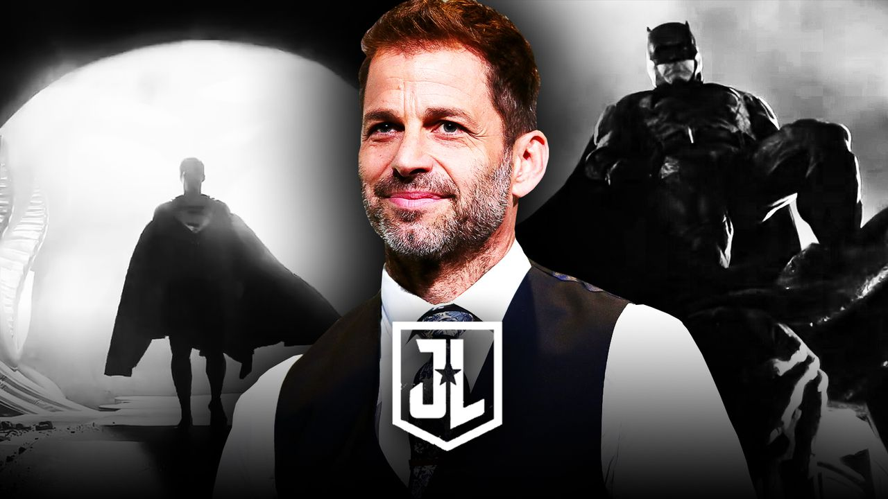 Zack Snyder, Justice League logo, Henry Cavill as Superman, Ben Affleck as Batman