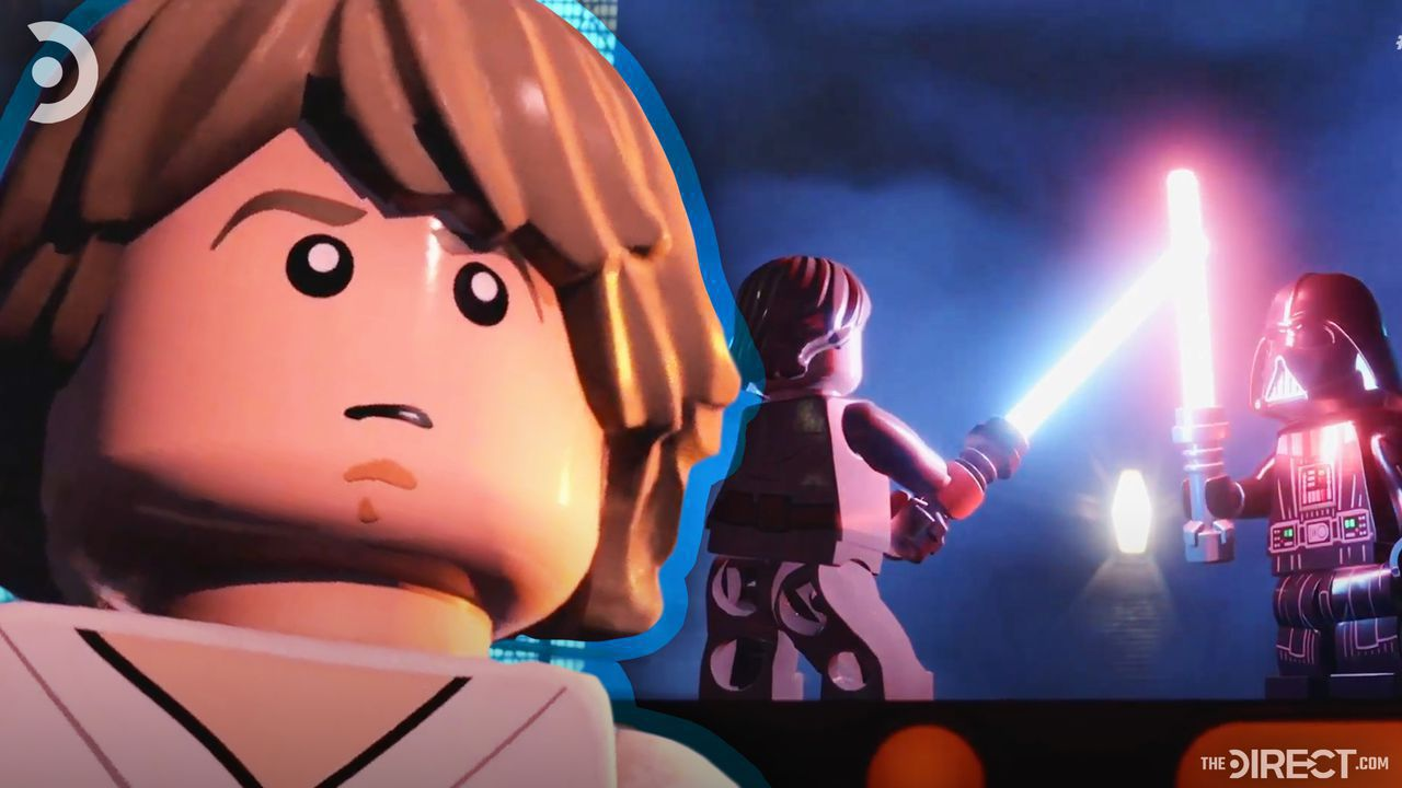 Lego Luke Skywalker, Lego Luke Skywalker against Lego Darth Vader