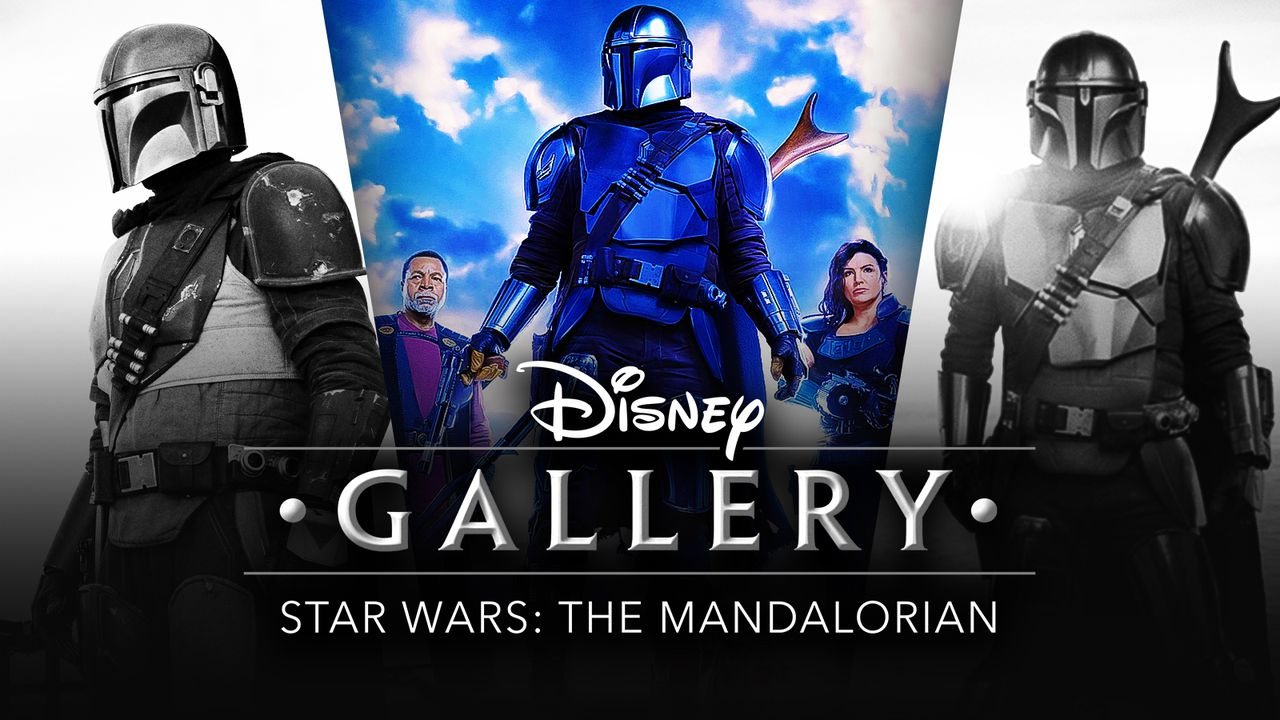 Disney Gallery The Mandalorian logo, Mando images