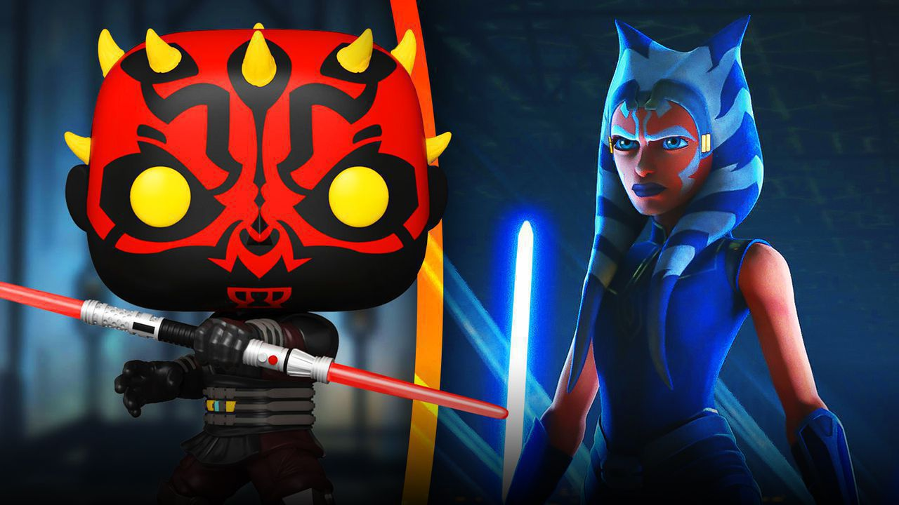 Darth Maul Funko Pop, Ahsoka Tano from Star Wars: The Clone Wars Season 7