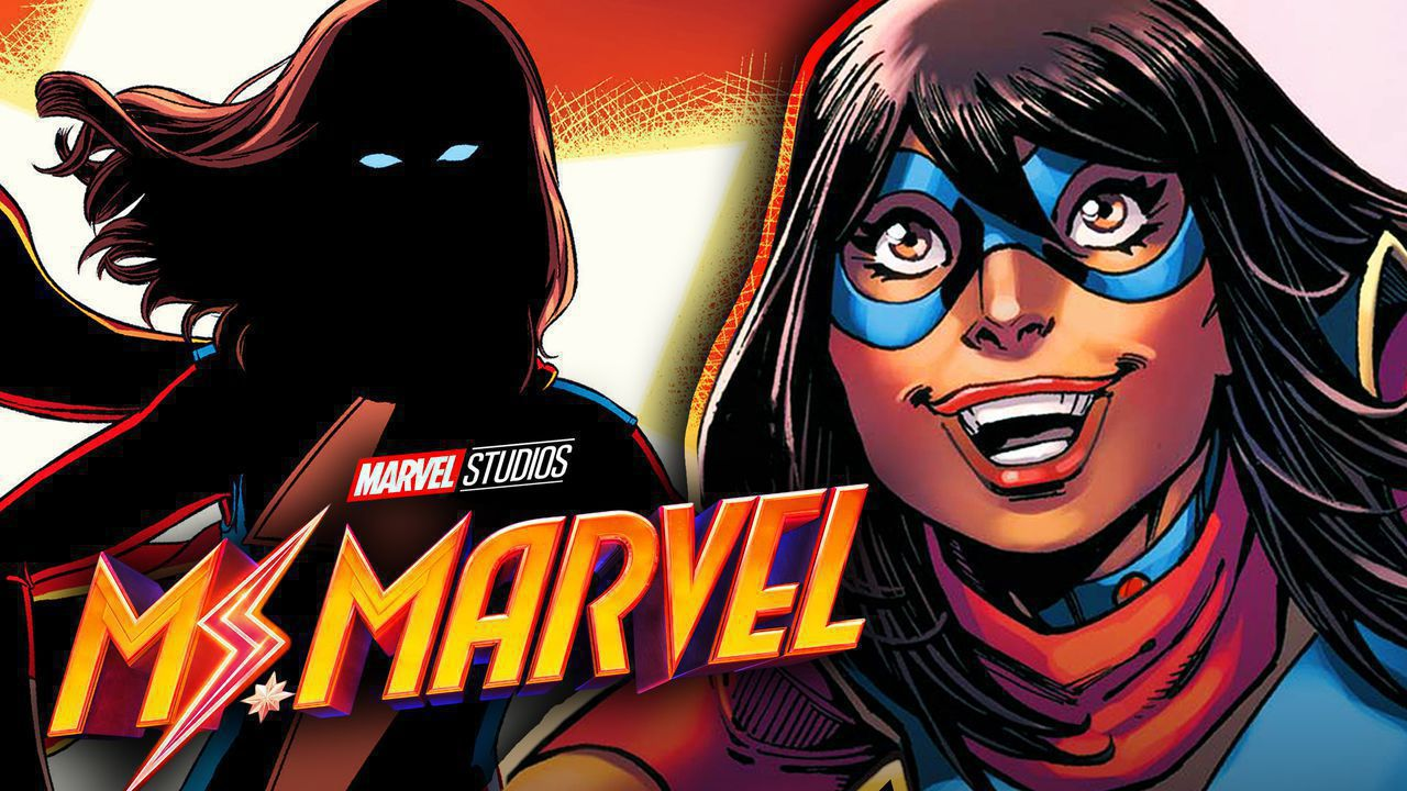 Ms. Marvel comic silhouette,  Ms. Marvel comic