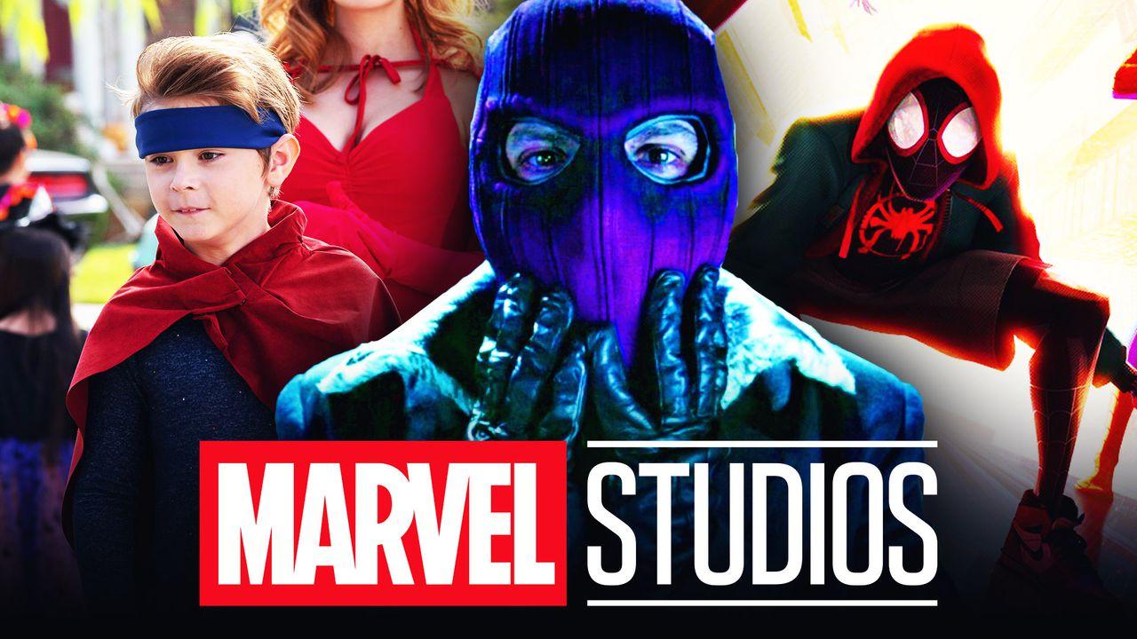 Marvel Studios logo Zemo Spider-Man Billy Twin