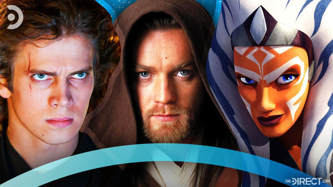 Anakin Skywalker, Obi-Wan Kenobi, Ahsoka